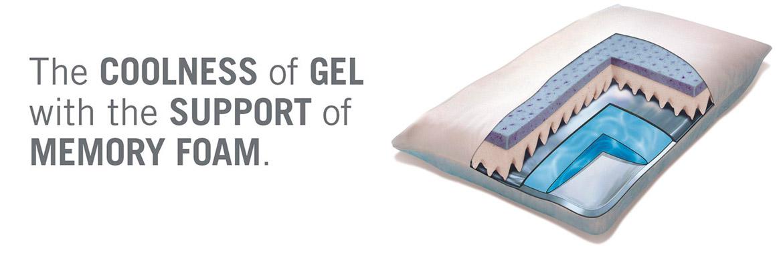 Memory Foam Cool Gel Pillow