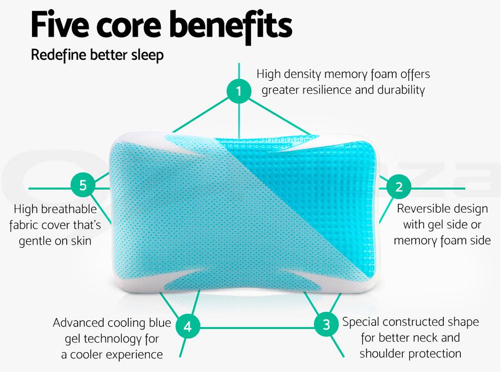Cooling pillow - TOP 5 benefits