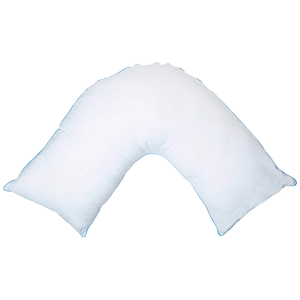 V-shaped (Boomerang) pregnancy pillow