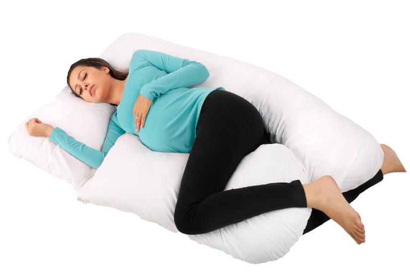 U-shaped maternity pillow